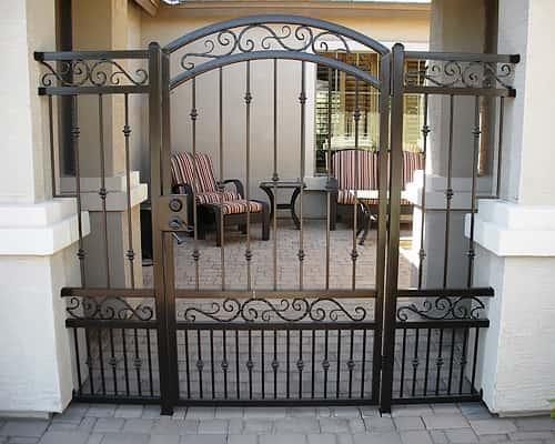 Sun king fencing gates phoenix iron company