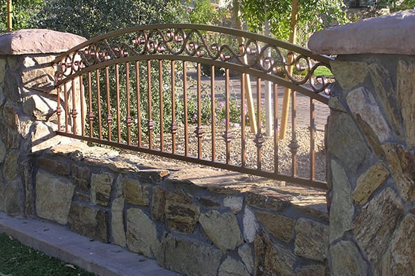Decorative Wrought Iron Fencing Phoenix Sun King Fencing