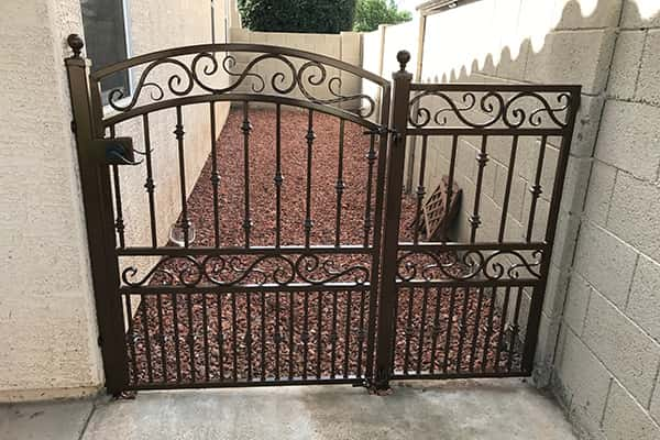 Decorative Wrought Iron Gates Phoenix Sun King Fencing