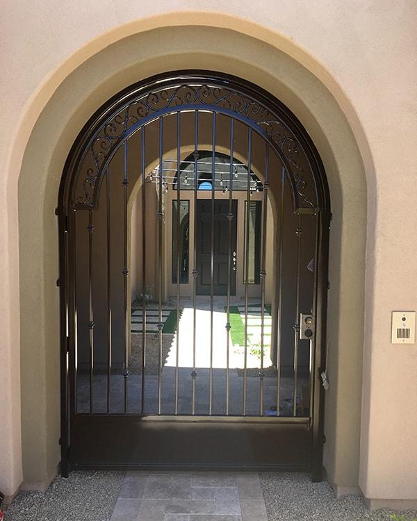 Decorative Wrought Iron Gates Phoenix Sun King Fencing