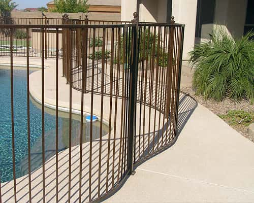 Wrought Iron Pool Safety Fences
