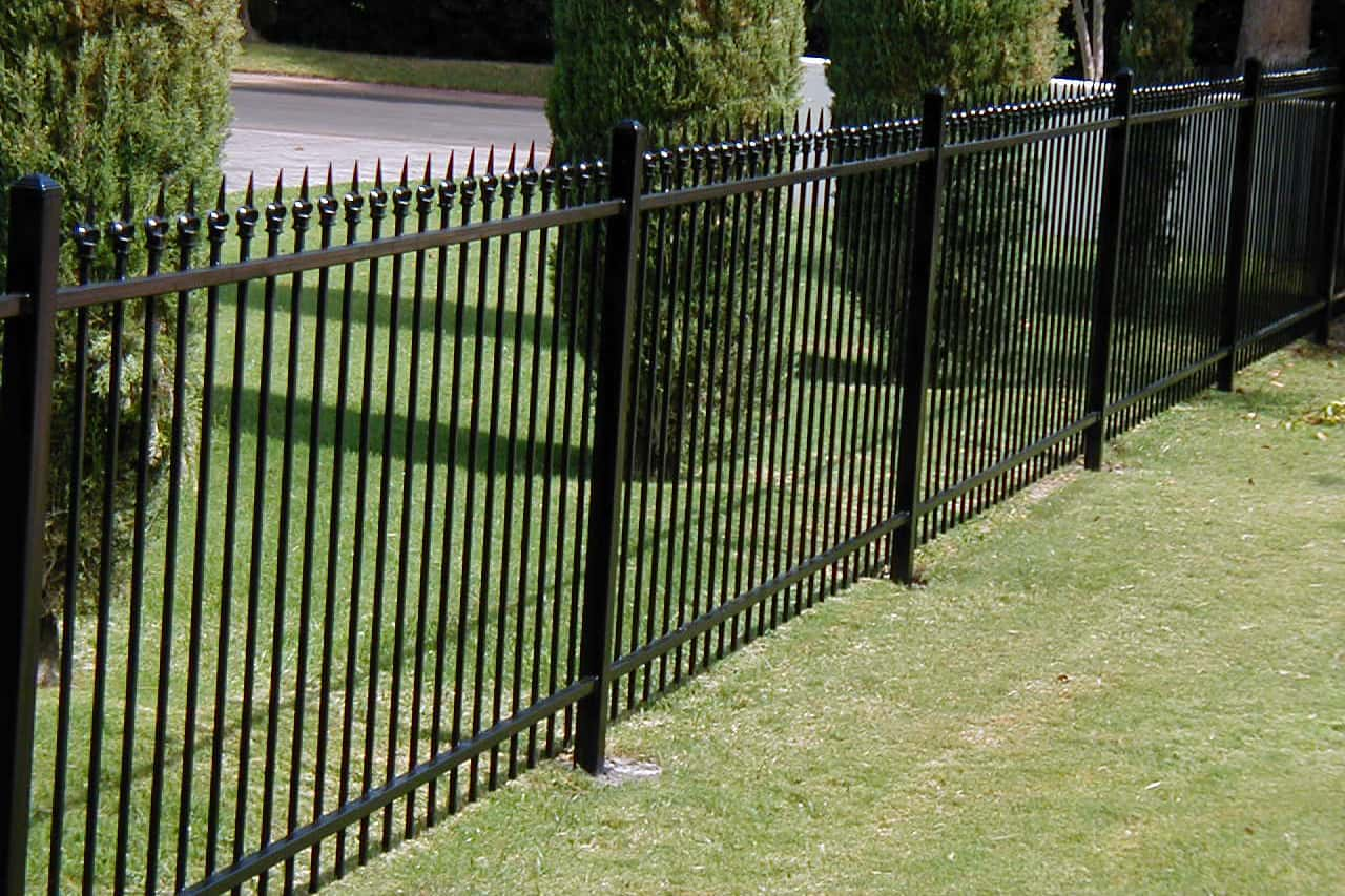 view fencing with spears - Decorative Fencing