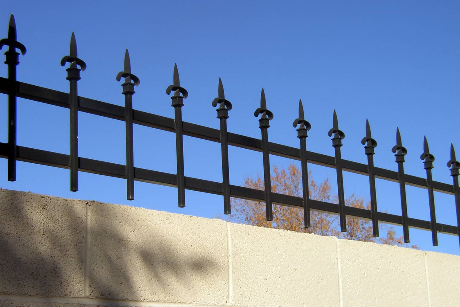 Masonry Topper Fencing