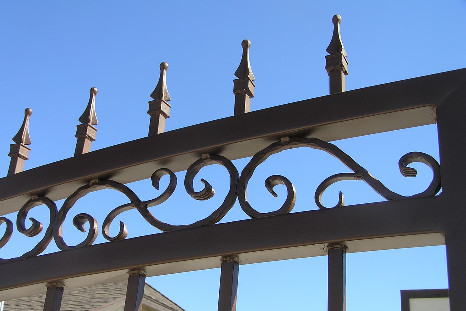 Driveway Gate Examples Sun King Fencing Amp Gates