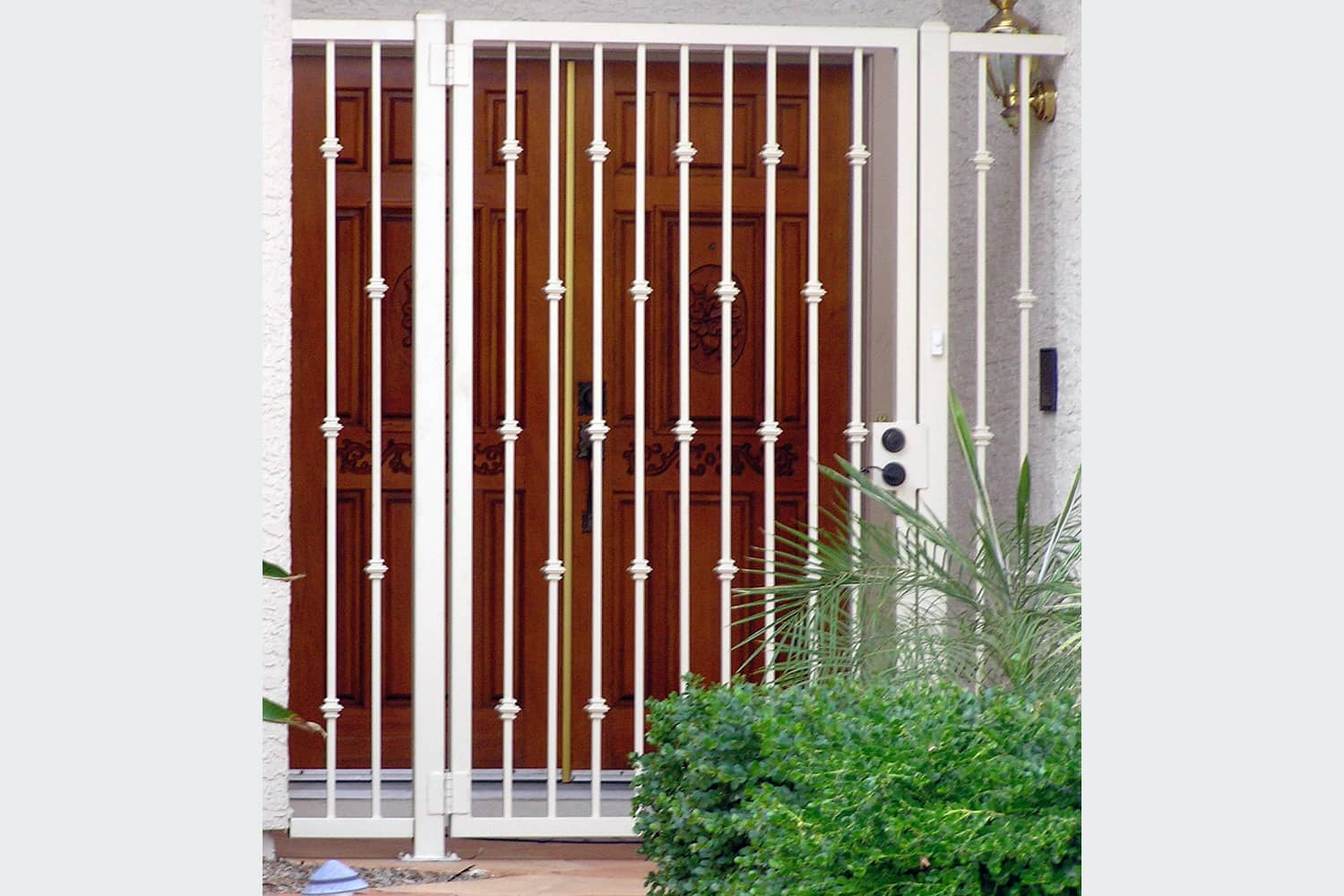 Tall Security Entry Gate and Panels