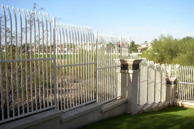 Tall Security Fence